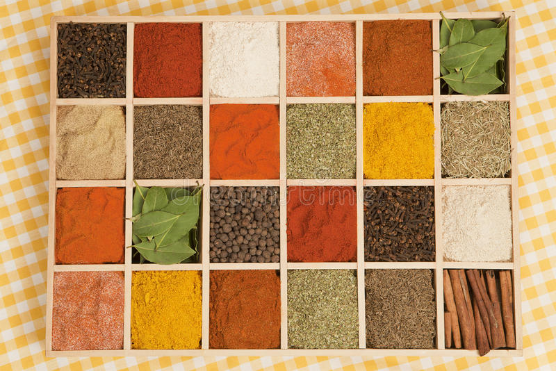 Spices variation. stock photography