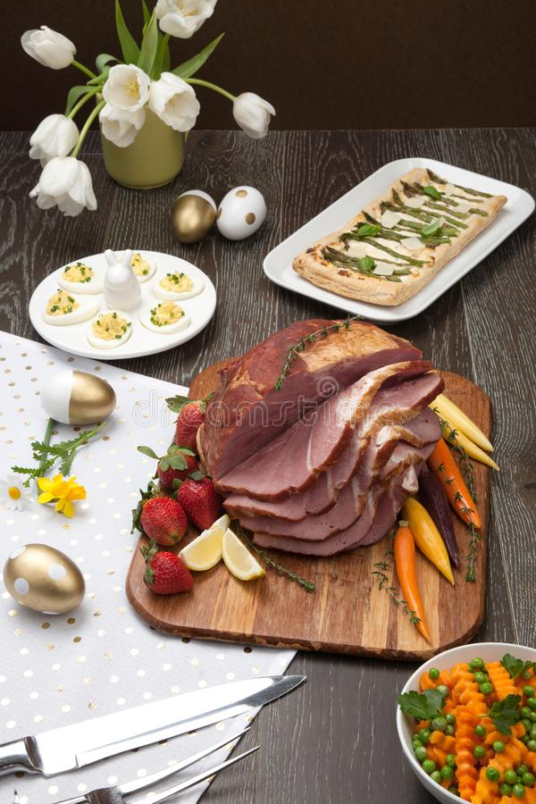 Spicey Ham For Easter photo stock