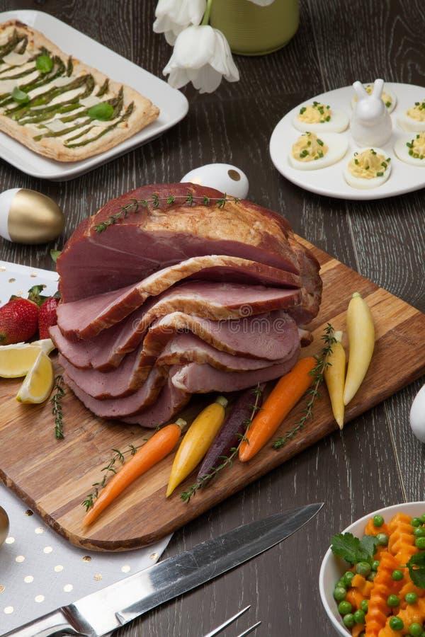Spicey Ham For Easter photo libre de droits