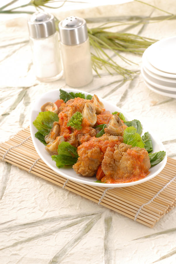Download Spicy Chicken stock image. Image of spice, lunch, dinner - 16117393