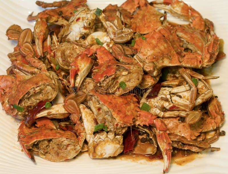 Spicy crab stock photo
