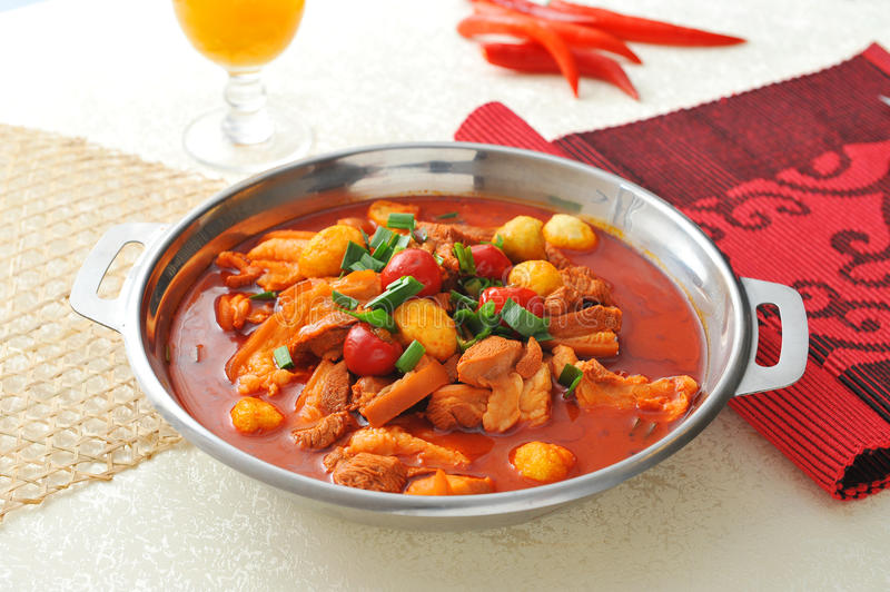 Spicy cuisine royalty free stock photo