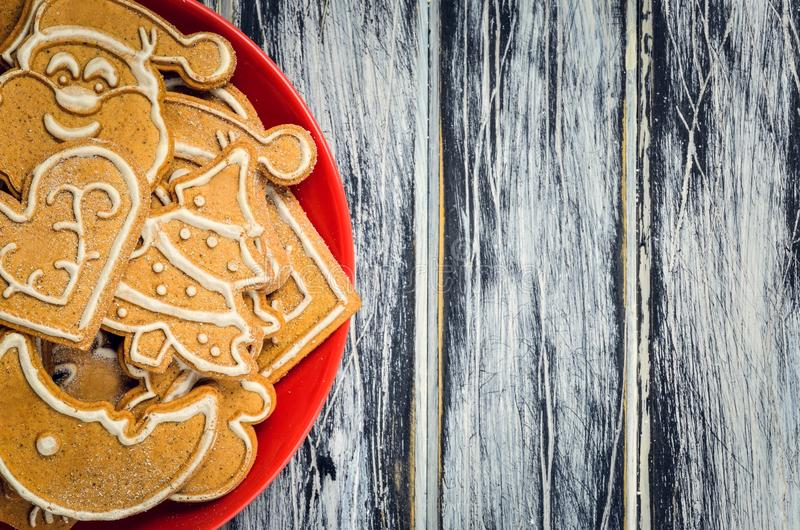 Download Sweet Christmas pastries. stock photo. Image of panel - 107263280
