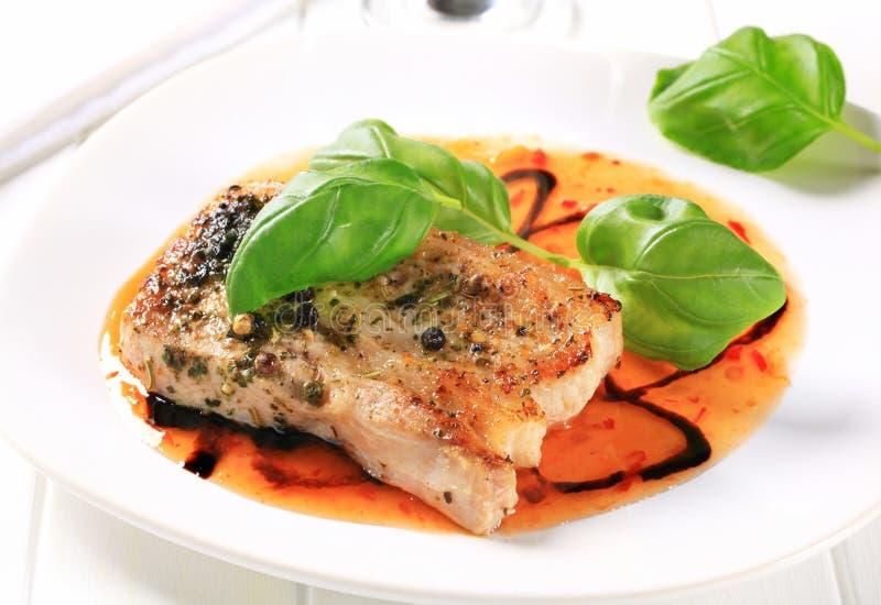 Download Spicy pork belly stock photo. Image of pesto, chili, slice - 29037948