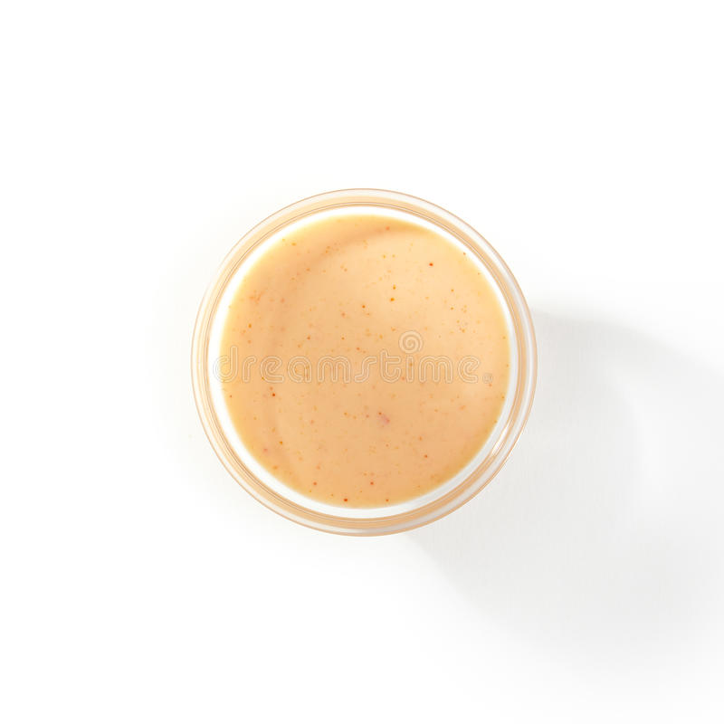 Spicy Sauce Bowl stock photography