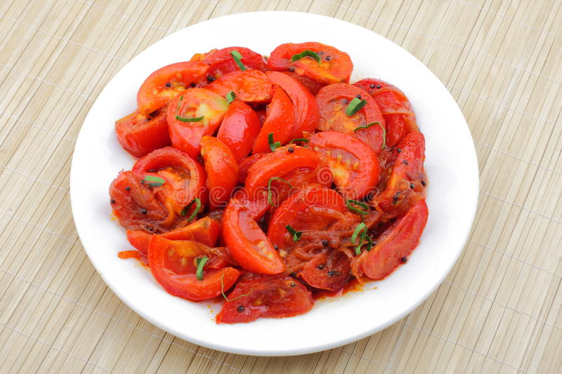 Download Spicy Tomato Fry. Royalty Free Stock Image - Image: 33389116