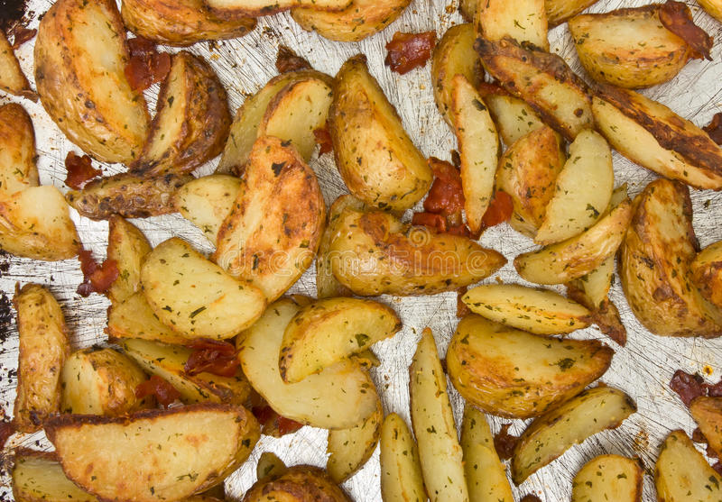 Spicy Wedges Royalty Free Stock Images