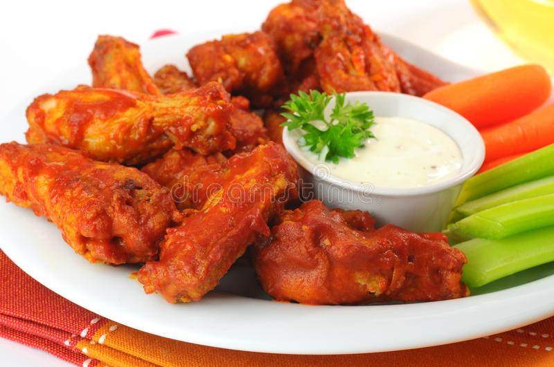 Download Spicy Wings stock photo. Image of wings, snack, spicy - 12527142