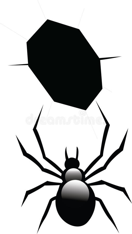 Download Spider stock illustration. Image of creepy, isolated - 23632529