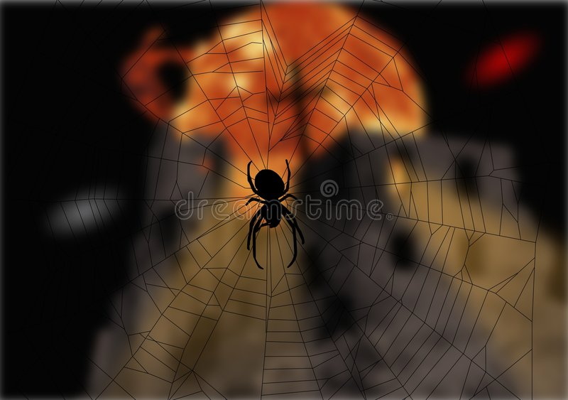 Download Spider and the fairy tale stock illustration. Image of image - 8317111