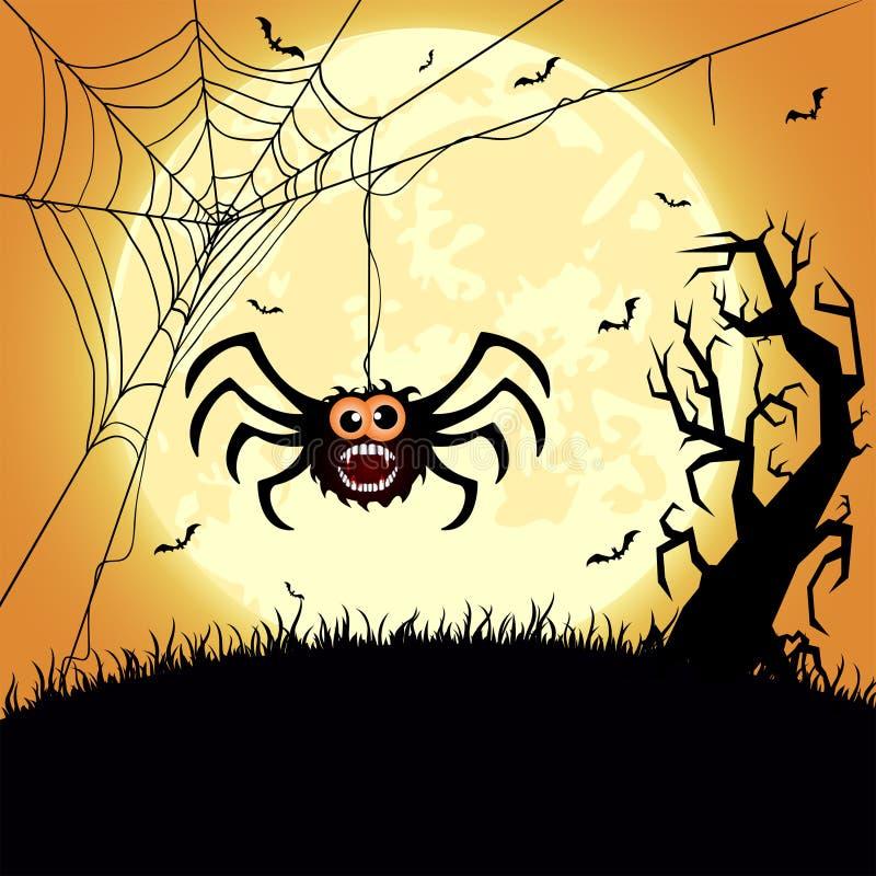 Spider royalty free illustration