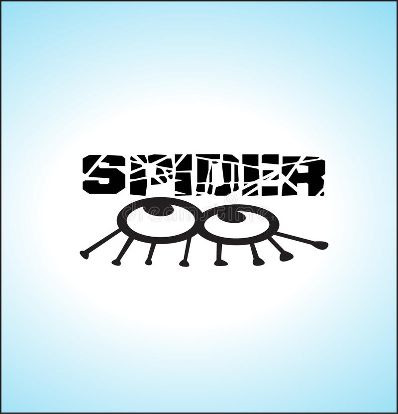 Download Spider  illustration stock illustration. Illustration of bite - 16021940