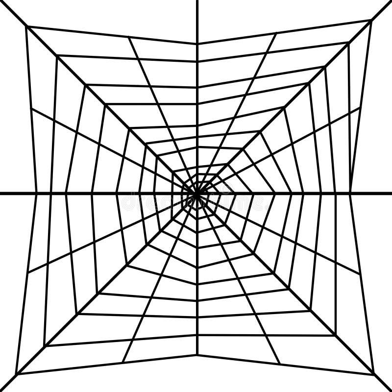 Spider's web royalty free illustration
