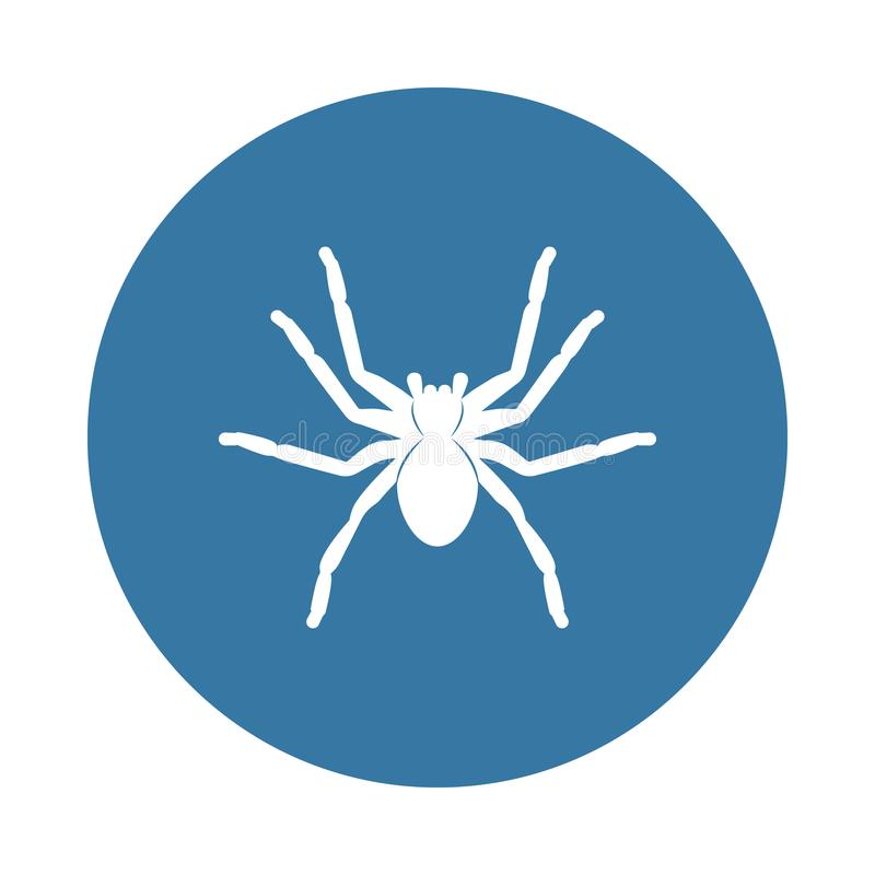 spider tarantula icon. Element of insect icons for mobile concept and web apps. Badge style spider tarantula icon can be used for stock illustration