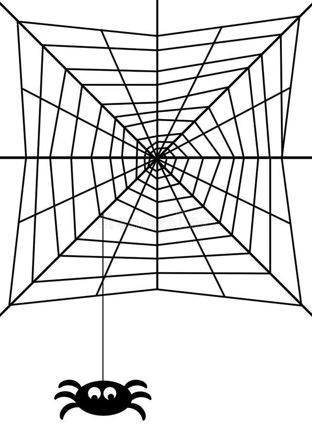 Download Spider web stock illustration. Illustration of background - 17971284