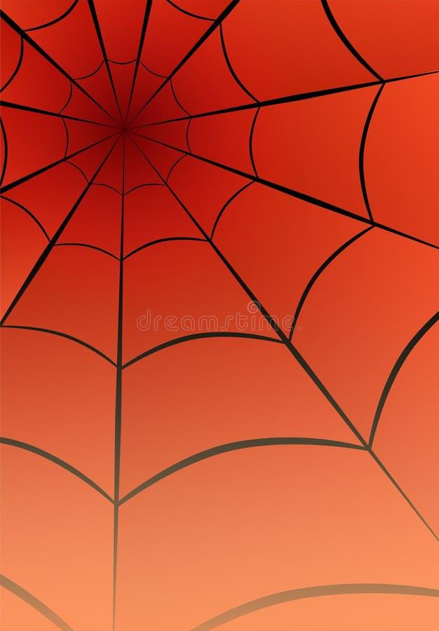 Spider Web Graphic Design Muster Umriss für Netzstruktur Abstract Form Tapete Illustration Vektor Auf Cartoons Stil stock abbildung