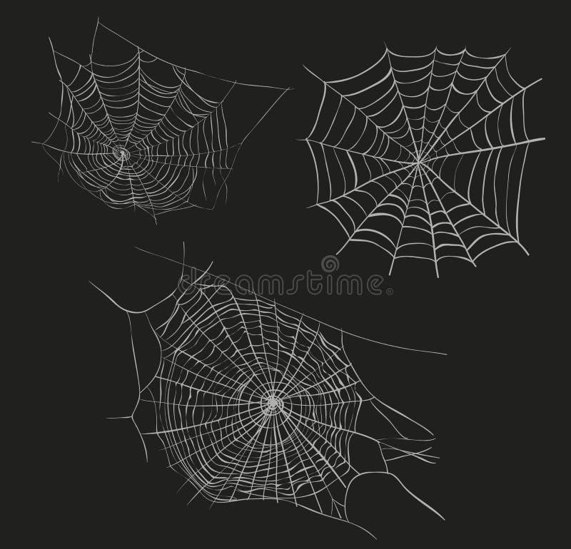 Free Spider Web Sketch Vector Illustration. Stock Images - 102214244
