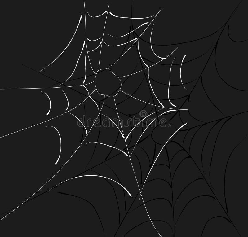 Download Spider Web Two Webs stock illustration. Image of spider - 3184244