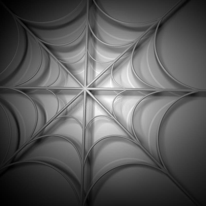 Download Spider webs stock illustration. Image of light, silk - 18067397