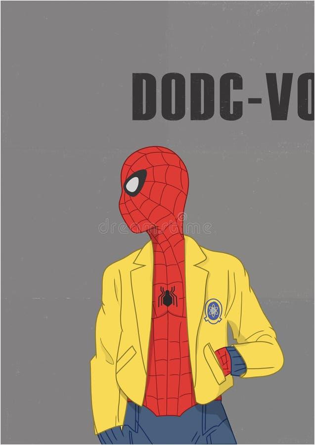 Spiderman immagini stock libere da diritti