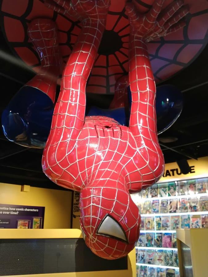 Spiderman immagini stock