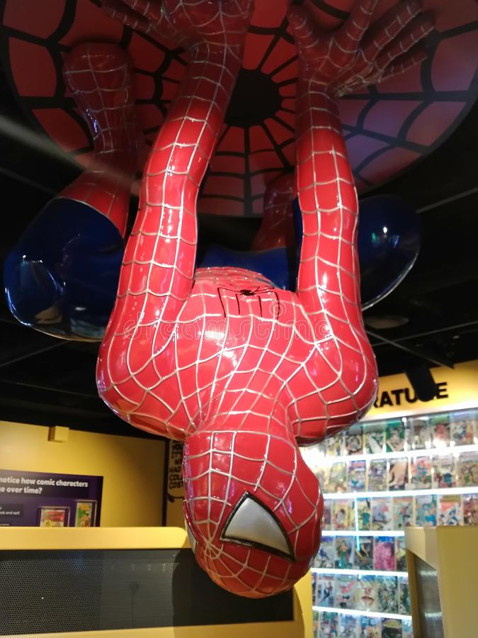 Spiderman stock images