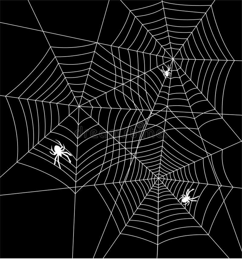Download Spiders and webs stock vector. Image of picture, illustration - 19684689