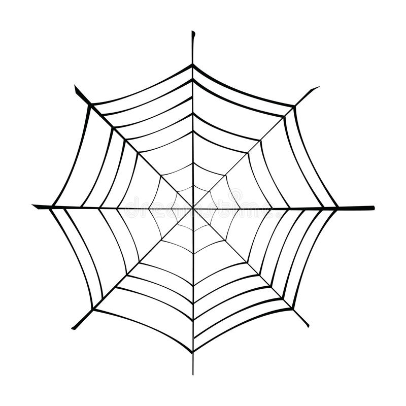 Spiderweb Royalty Free Stock Images