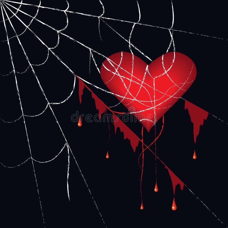 Spiderweb stock illustration