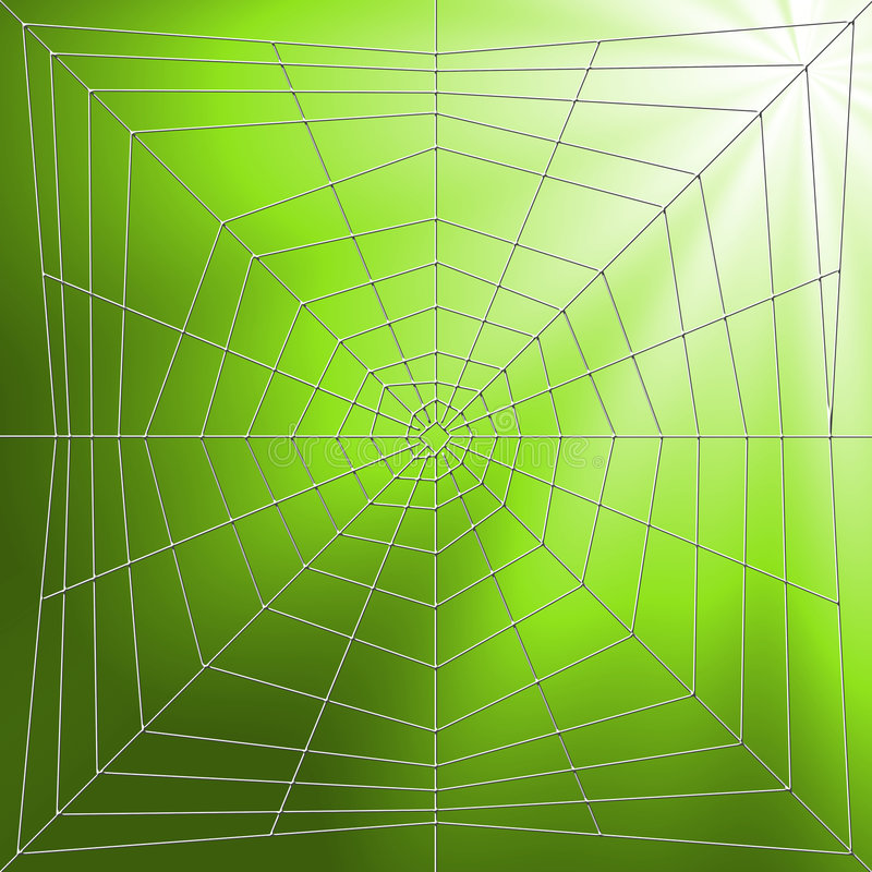 Download Spiderweb Illustration stock illustration. Illustration of isolated - 2572119
