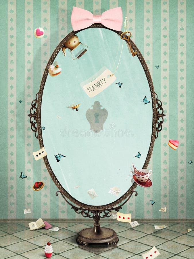 spiegel royalty-vrije illustratie
