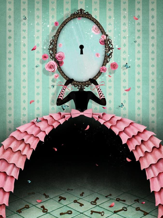 spiegel stock illustratie