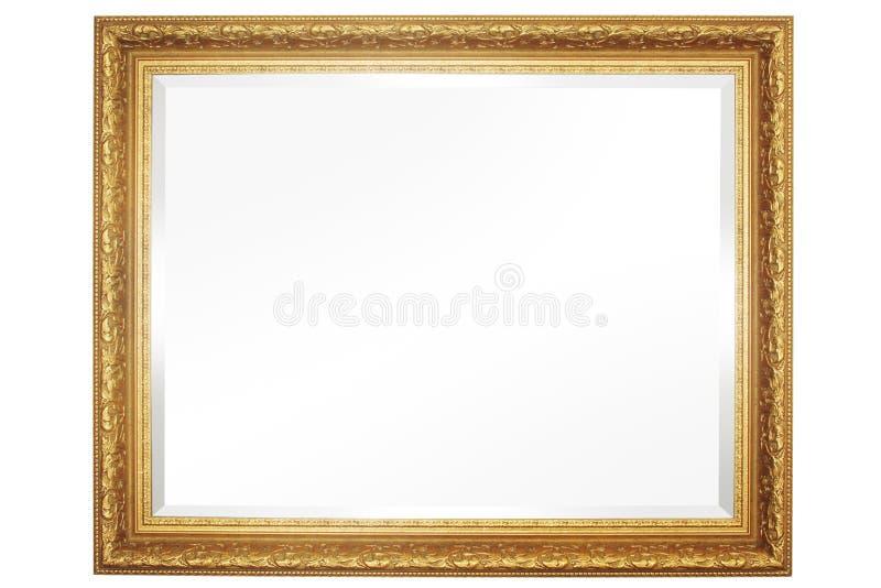 Spiegel met Frame royalty-vrije stock foto