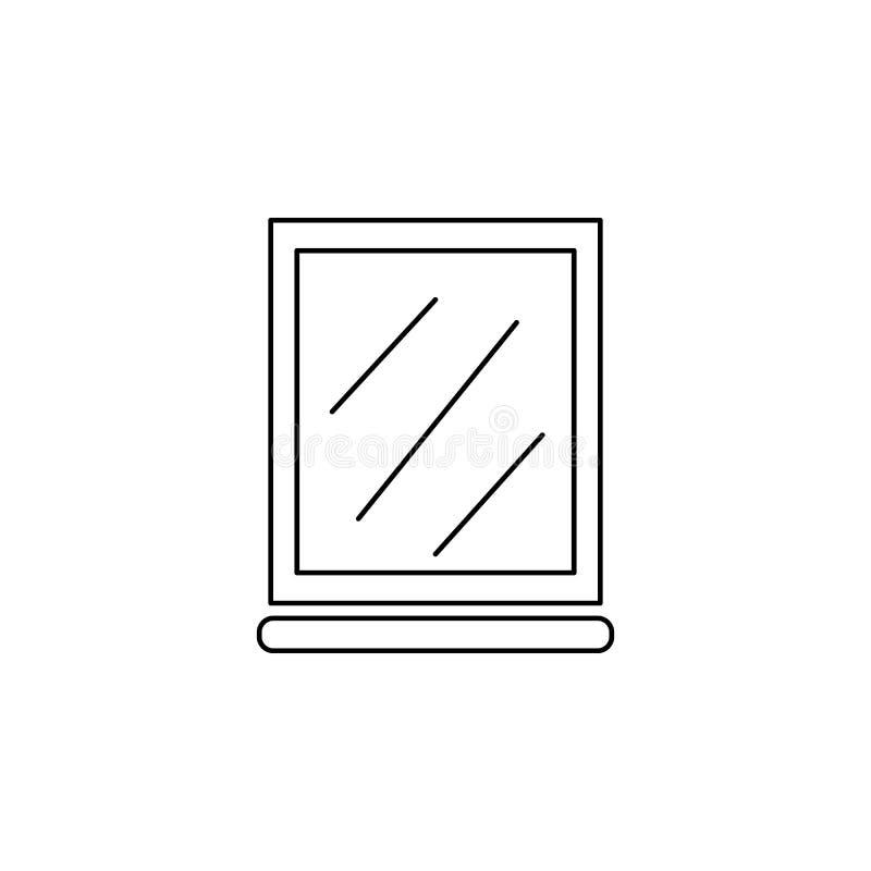 Spiegelpictogram vector illustratie