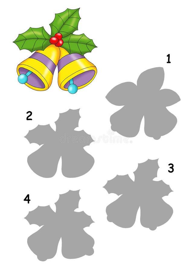 Spiel 68, der Farbton der Glocken vektor abbildung