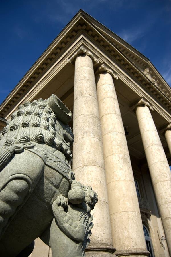 Spiel-casino em Aix-la-Chapelle imagem de stock royalty free