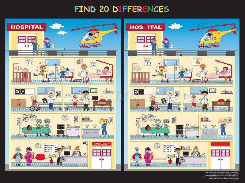 Spiel für Kinder stock abbildung
