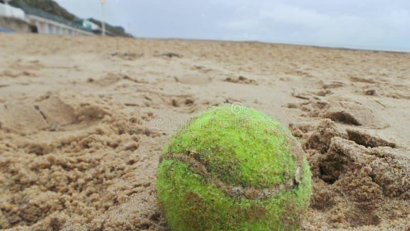 Spiel im Sand stockfotografie