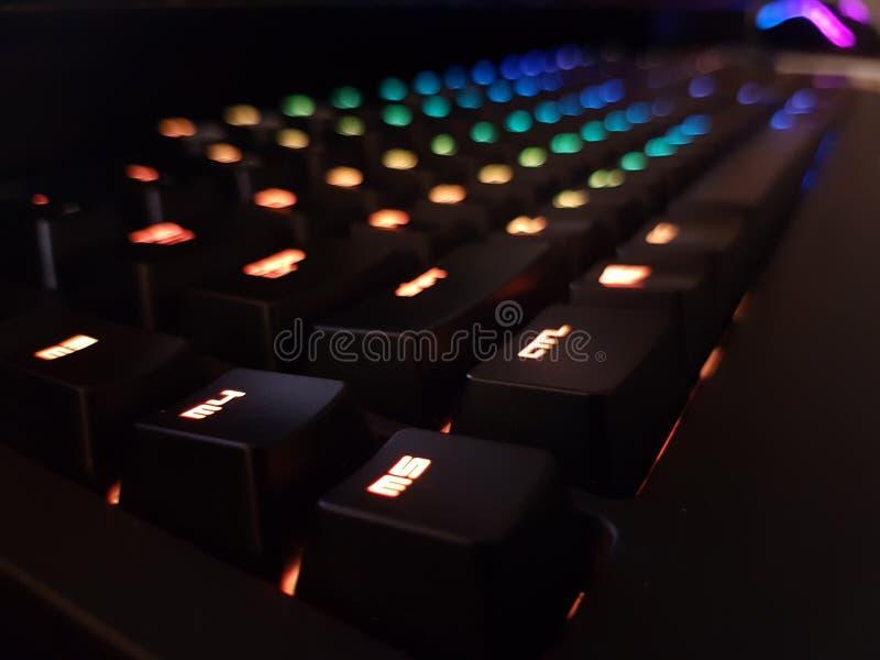 Spiel-Nacht lizenzfreies stockbild
