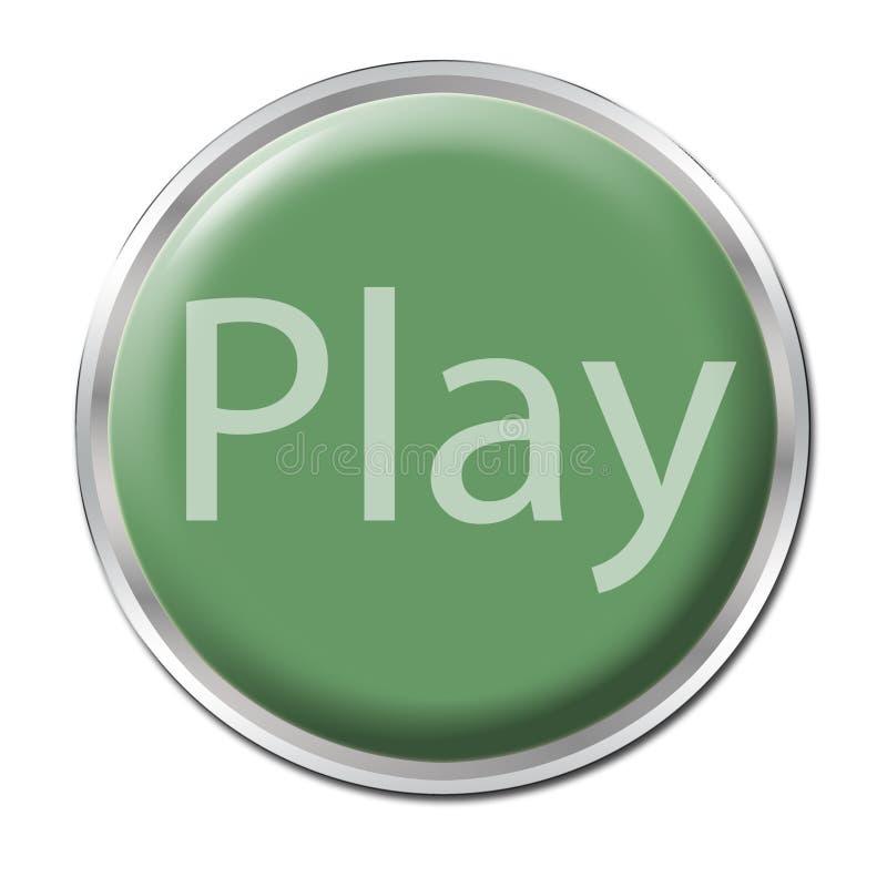 Spiel-Taste vektor abbildung