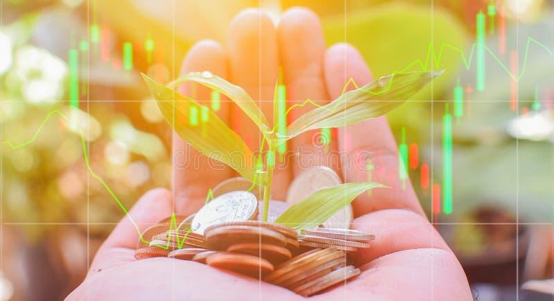 Spielaktien im Devisenmarkt stockfotografie