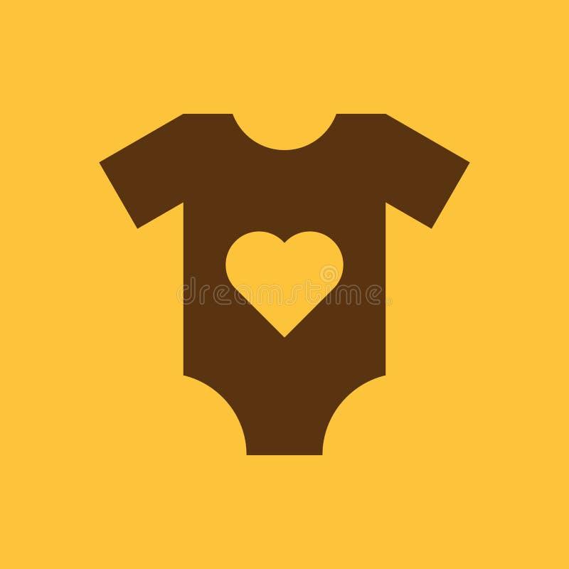 Spielanzugklagenikone Entwurf Hemd, Kleidung, Spielanzuganzugssymbol web graphik ai app zeichen nachricht flach bild zeichen stock abbildung