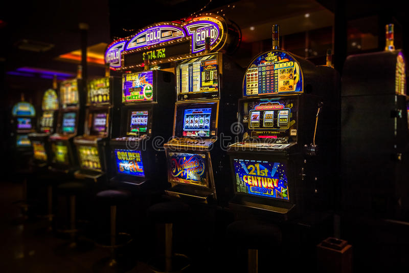 Spielautomaten lizenzfreies stockfoto