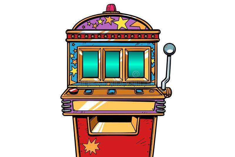 Spielautomatspielautomat lizenzfreie abbildung