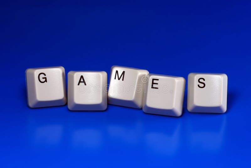 Spiele stockfotografie