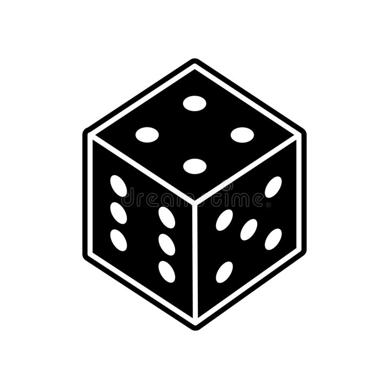 Spielen der Pfeilikone Element des Kasinos f?r bewegliches Konzept und Netz Appsikone Glyph, flache Ikone f?r Websiteentwurf und  lizenzfreie abbildung