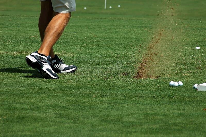 Spielen des Golfs