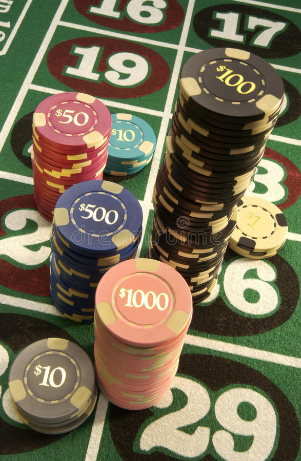 Spielen - Kasino lizenzfreie stockbilder