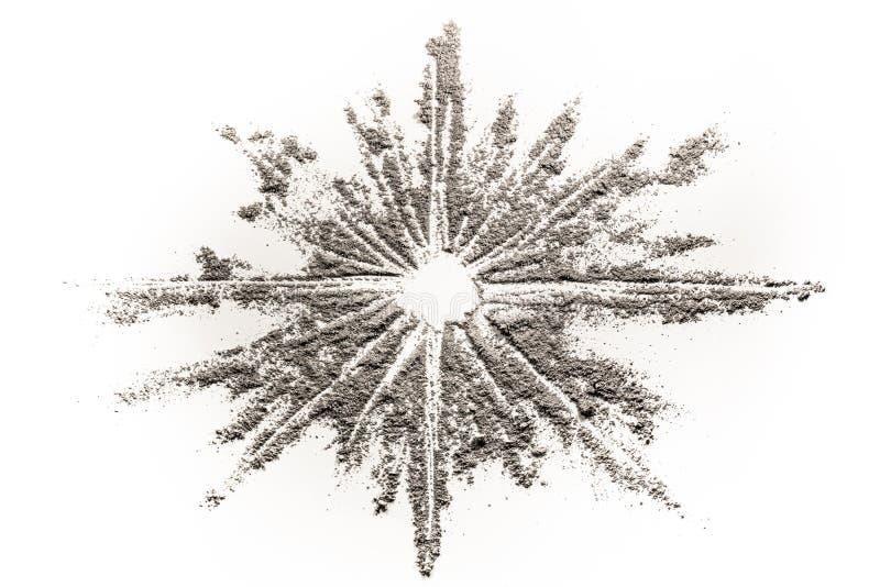 Spielen Sie Explosion in stardust Illustration die Hauptrolle im Staub gemacht wird lizenzfreie stockfotografie
