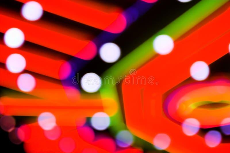 Spielender Hintergrund des Neons lizenzfreie stockbilder